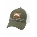 Hunter Green - Simms - Trout Trucker Cap
