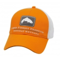 Russet Orange - Simms - Trout Trucker Cap