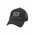 Black - Simms - Trout Trucker Cap