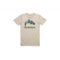 Sand - Simms - Troutscape T-Shirt