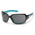 Black Teal Laser - Suncloud - Cookie - Gray Polarized Polycarbonate