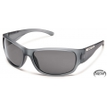 Matte Gray - Suncloud - Convoy  - Gray Polarized Polycarbonate