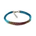 Blue Tara                 - Sherpa Adventure Gear - Mayalu Three Wire Bracele