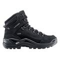 Black/Black - LOWA Boots - Men's Renegade GTX Mid