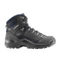 Dark Gray/Navy - LOWA Boots - Men's Renegade GTX Mid