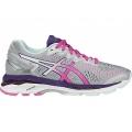 Silver/Pink Glow/Parachute Purple - ASICS - Women's GEL-Kayano 23
