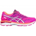 Pink Glow/White/Dark Purple - ASICS - Women's GT-2000 5
