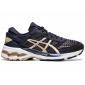 MIDNIGHT/FROSTED ALMOND - ASICS - Women's Gel-Kayano 26