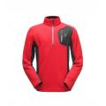 Red Black Black - Spyder - Men's Bandit Half Zip Stryke Jacket