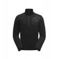 Black Black Black - Spyder - Men's Bandit Half Zip Stryke Jacket