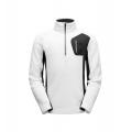 White Black Turkish Sea - Spyder - Men's Bandit Half Zip Stryke Jacket