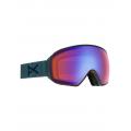 Frame: Lay Back, Lens: SONAR Blue, Spare Lens: SONAR Silver - Burton - Men's Anon M4 Toric Sonar Goggle + Spare Lens + MFI Face Mask