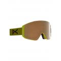 Frame: Green, Lens: PERCEIVE Sunny Bronze (17% / S3), Spare Lens: PERCEIVE Cloudy Burst (59% / S1) - Burton - Men's Anon Sync Goggle + Bonus Lens