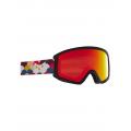 Frame: Rainbow Blk, Lens: Red Solex (50% / S1) - Burton - Kids' Anon Tracker 2.0 Goggle