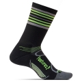 Black/Reflector Stripe - Feetures! - Elite Light Cushion Mini Crew
