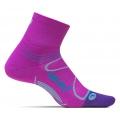 Orchid/Blue Lagoon - Feetures! - Elite Light Cushion Quarter