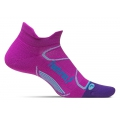 Orchid/Blue Lagoon - Feetures! - Elite Light Cushion No Show Tab