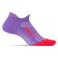 Viola/Lava - Feetures! - Elite Light Cushion No Show Tab
