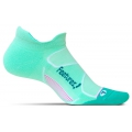 Mint/Capri - Feetures! - Elite Max Cushion No Show Tab