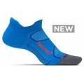 Bright Blue/Lava - Feetures! - Elite Max Cushion No Show Tab