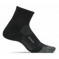 Charcoal - Feetures - Merino 10 Cushion Quarter