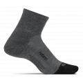 Gray - Feetures - Merino 10 Cushion Quarter