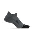 Gray - Feetures - Merino 10 Cushion No Show Tab