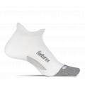 White - Feetures - Elite Max Cushion No Show Tab