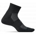 Black - Feetures - High Performance Cushion Quarter