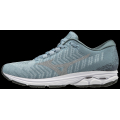 Blue Fog-Vapor Blue - Mizuno - Wave Rider Waveknit 3 Womens