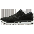 Black - Mizuno - Wave Sky Waveknit 3 Mens