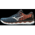 Moroccan Blue-White - Mizuno - Wave Sky Waveknit 3 Mens