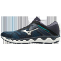 Navy Blazer-Silver - Mizuno - Wave Horizon 4 Mens