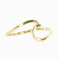 Gold - Pura Vida Bracelets - Wave Ring