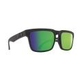Matte Black - Happy Bronze Polar W/ Green Spectra - Spy Optic - Helm