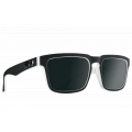 Whitewall - Hd Plus Gray Green With Black Spectra Mirror - Spy Optic - Helm