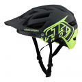 Classic Gray / Green - Troy Lee Designs - Unisex A1 Mips Helmet