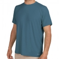 Storm Blue - Free Fly Apparel - Men's Bamboo Midweight Motion Tee