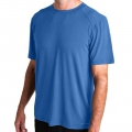 Offshore Blue - Free Fly Apparel - Men's Bamboo Midweight Motion Tee