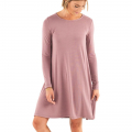 Light Sangria - Free Fly Apparel - Women's Bamboo Journey Dress