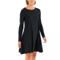 Heather Black - Free Fly Apparel - Women's Bamboo Journey Dress