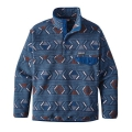 Lifecycle: Glass Blue - Patagonia - Men's Synch Snap-T Pullover