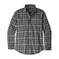 Untamed: Feather Grey - Patagonia - Men's L/S Pima Cotton Shirt