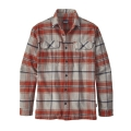 Buckstop Plaid: Roots Red - Patagonia - Men's L/S Fjord Flannel Shirt