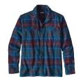 Buckstop Plaid: Big Sur Blue - Patagonia - Men's L/S Fjord Flannel Shirt