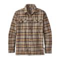 Migration Plaid: Mojave Khaki - Patagonia - Men's L/S Fjord Flannel Shirt