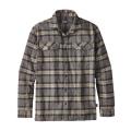 Migration Plaid: Forge Grey - Patagonia - Men's L/S Fjord Flannel Shirt