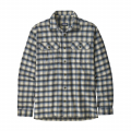 Castroville: Oyster White - Patagonia - Men's L/S Fjord Flannel Shirt