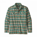 Independence: Eelgrass Green - Patagonia - Men's L/S Fjord Flannel Shirt