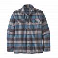 Plots: Pigeon Blue - Patagonia - Men's L/S Fjord Flannel Shirt